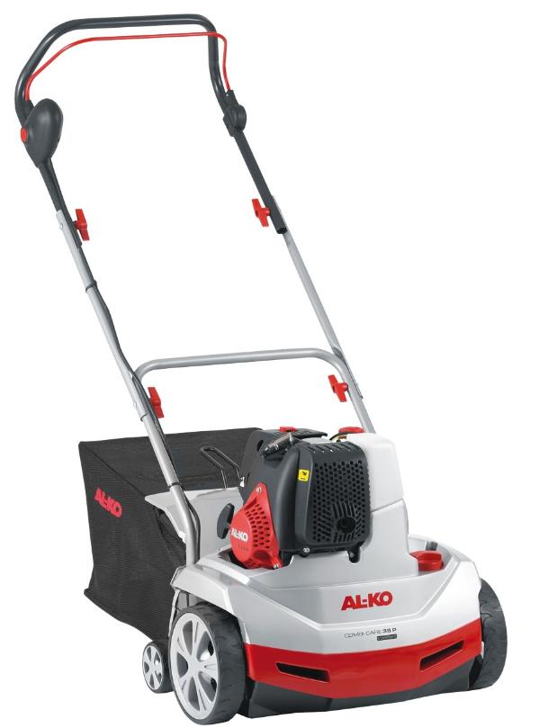 Benzínový vertikutátor AL-KO Combi Care 38 P Comfort s košem, 3 v 1