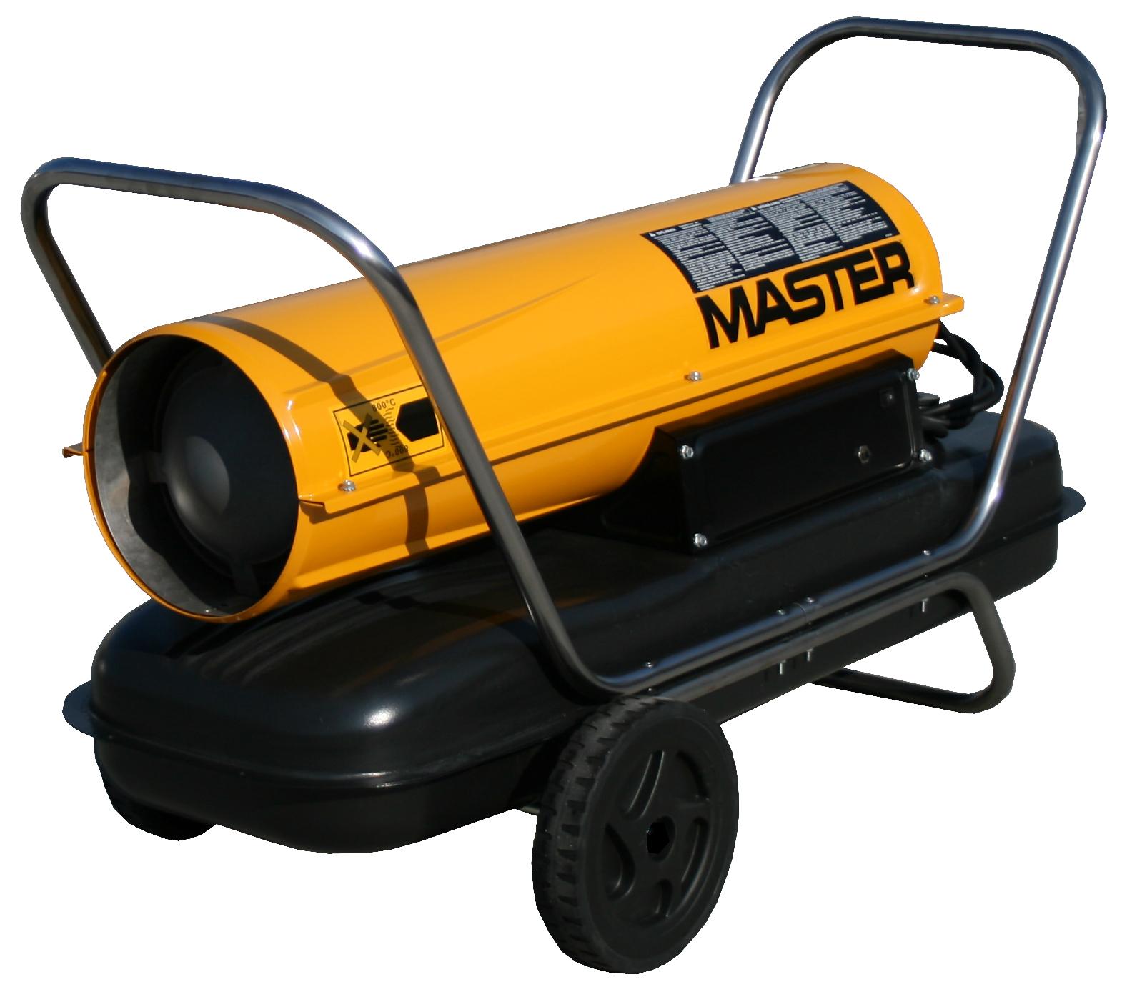 Master B 100 CED Mobilní naftové topidlo