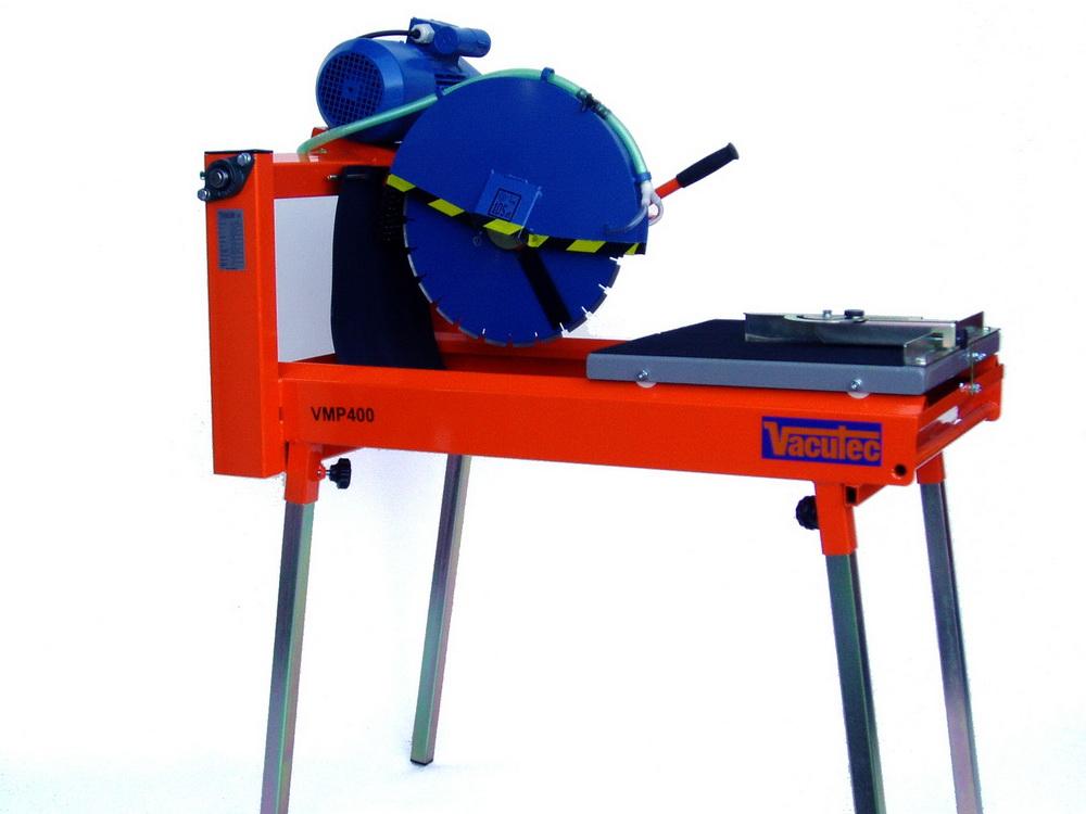 Vacutec VMP400 - Profesionální stavební pila na cihlové bloky + profesionální kotouč