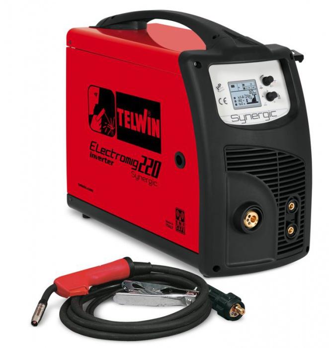 TELWIN ELECTOMIG 220 SYNERGIC 400V svářečka CO2