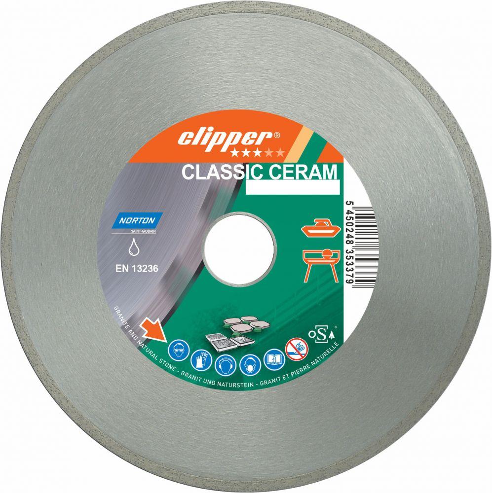 Norton clipper Diamantový kotouč CLASSIC CERAM průměr 115mm (pro úhlové brusky)