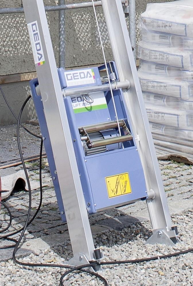 GEDA FIXLIFT 250 Stavební výtah