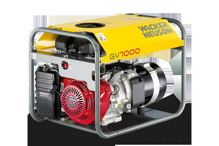 Wacker Neuson Přenosný generátor GV 7000A