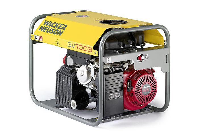 Wacker Neuson Přenosný generátor GV 7003A