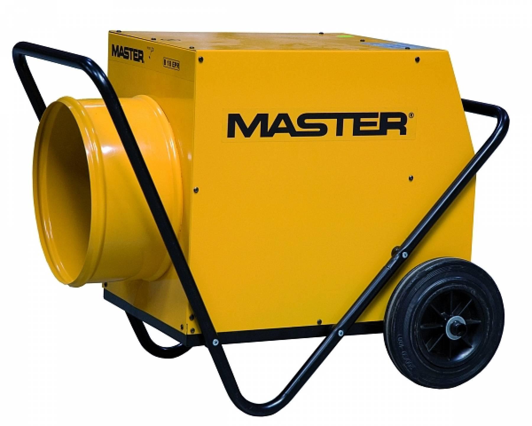 Master B 18 EPR Elektrické topidlo