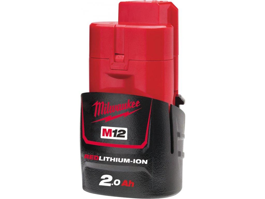 MILWAUKEE Batérie M12B2 - 12 V / 2,0 Ah - Li-Ion