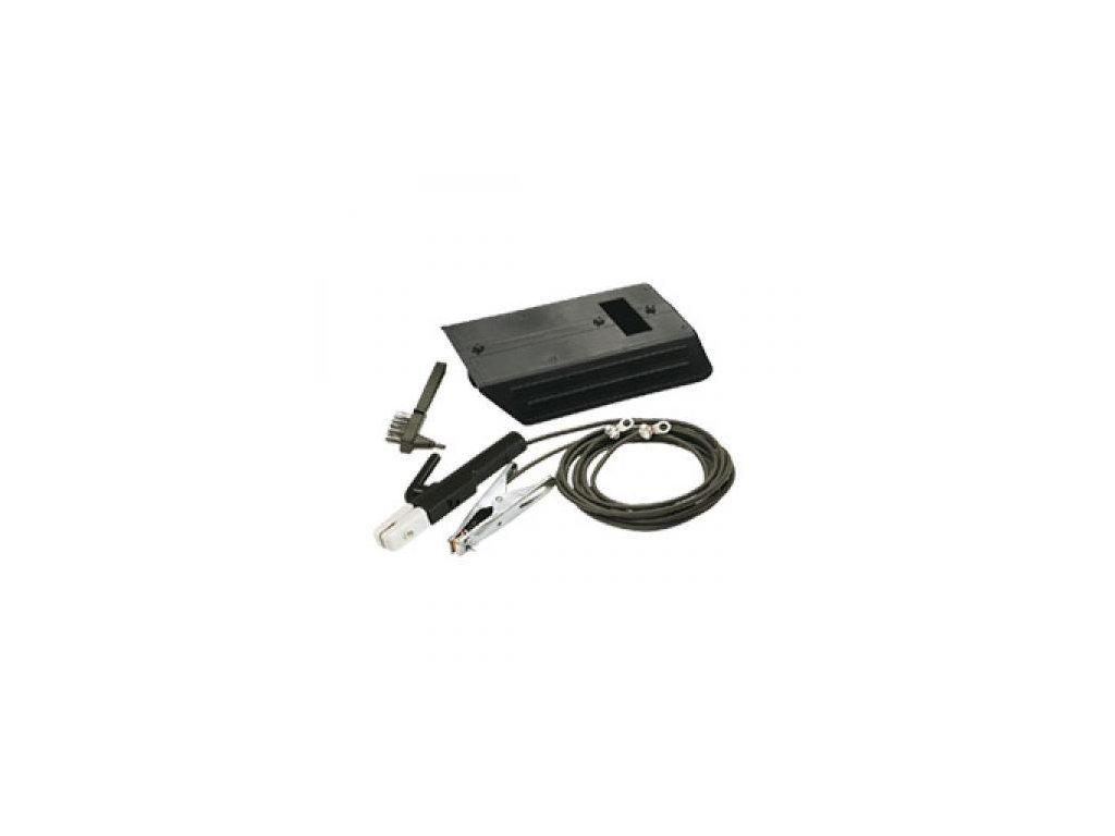 TELWIN Zvárací káble 3 + 2m 16mm2, kefa, štít + kladivko EURO koncovky