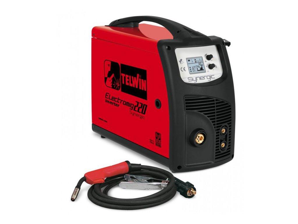 TELWIN ELECTOMIG 220 SYNERGIC 400V zváračka CO2