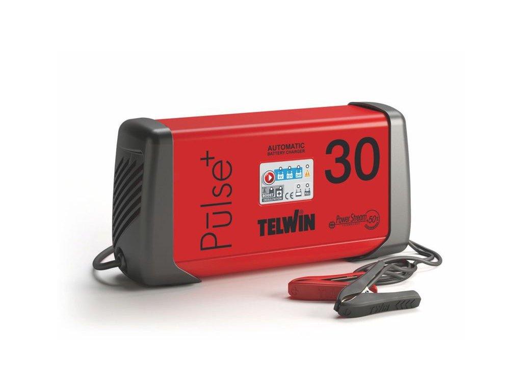 TELWIN PULSE 30 - Automatická nabíjačka