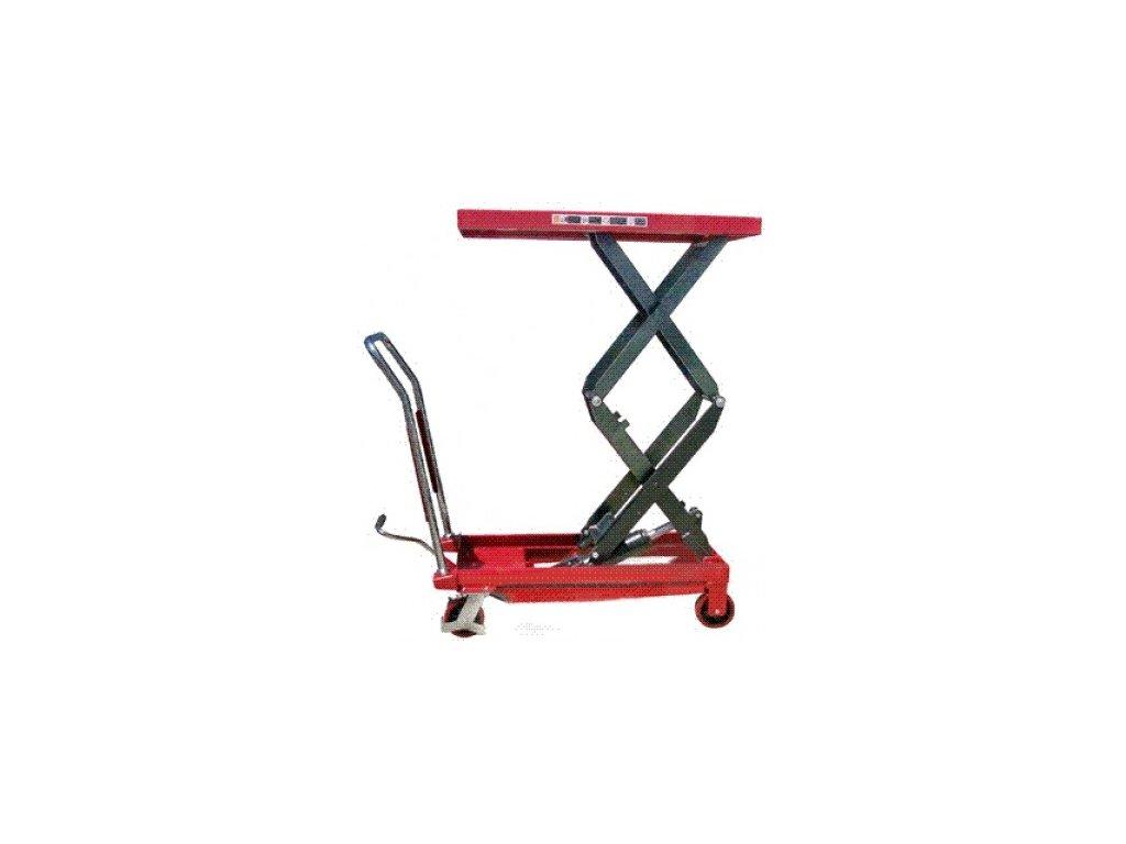 Pojazdný zdvíhací stôl 350 kg