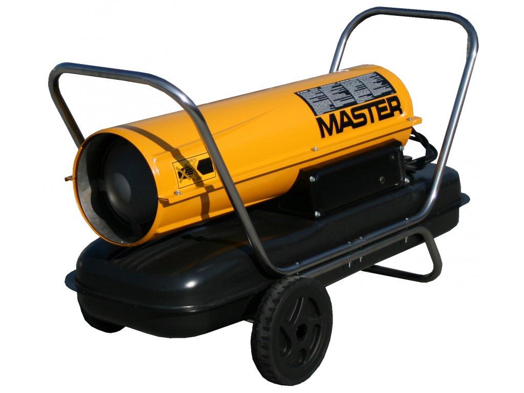 Master B 100 CED Mobilný naftový ohrievač