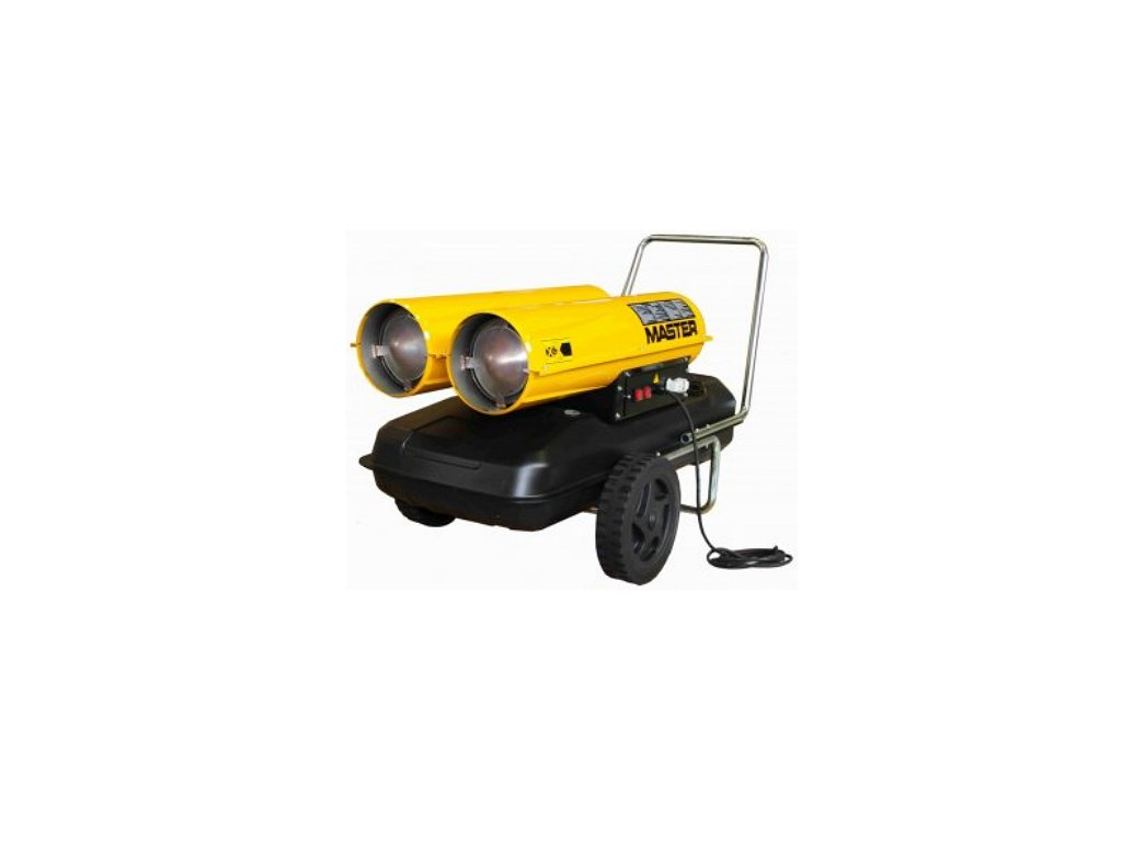 Master B 300 CED Mobilný naftový ohrievač