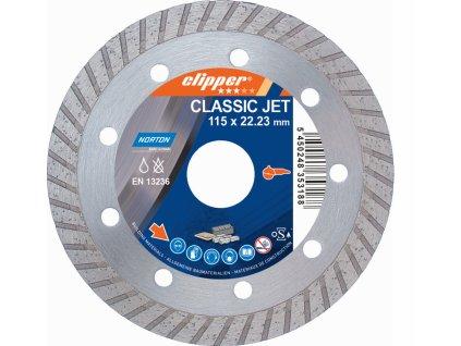 Diamantový kotúč CLASSIC JET priemer 115mm (pre uhlové brúsky)