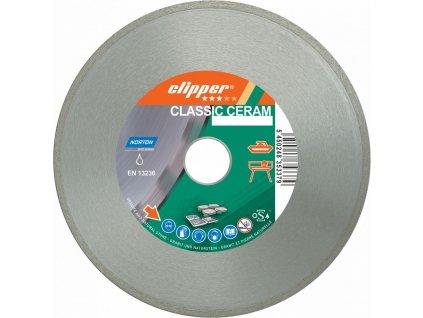 Diamantový kotúč CLASSIC CERAM priemer 250mm (pre obkladačské a kamenárske píly)