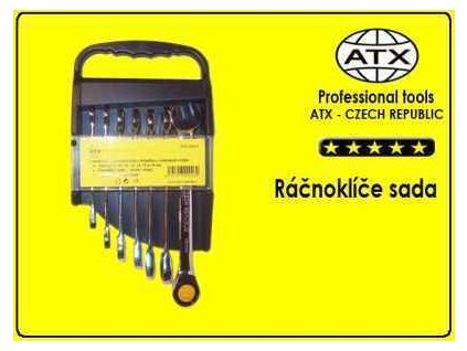 Ráčnové klíče 7ks - ATX profi