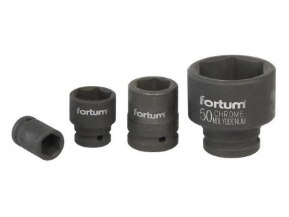 "Hlavica nástrčná rázová, 3/4 "", 70mm, L 90mm, CrMoV, FORTUM"
