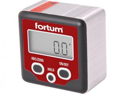 Sklonoměr digitálny, 0 ° -360 °, s magnetou, FORTUM