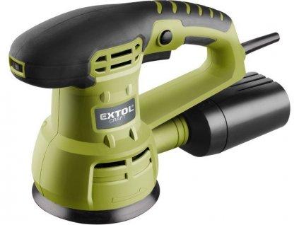 Bruska vibračná excentrická, 430 W, 125 mm, EXTOL CRAFT, 407202