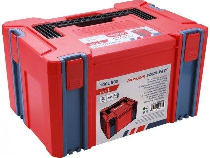Box plastový, L veľkosť, rozmer 443x310x248mm, ABS, EXTOL PREMIUM