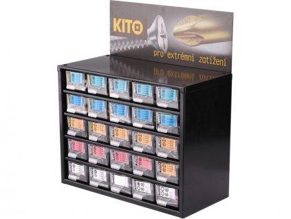 Zásobník KITO hroty 25, 300ks, KITO