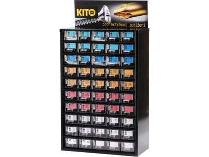Zásobník KITO hroty 50, 490ks, KITO