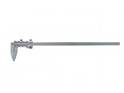 Mierka posuvné kovové, 0-600mm x 0,05, GEKO