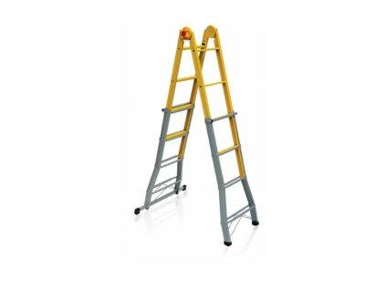 Viacúčelový oceľový rebrík B 44 FS
