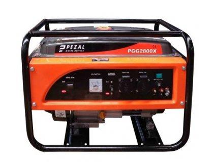 Pezal PGG2800X - elektrocentrála - 2.5 kW