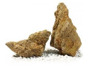 kusový kámen štípaný
