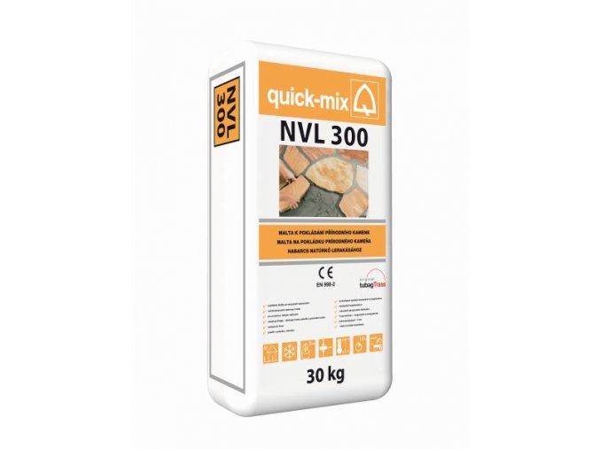 Quick mix NVL 300 30kg šedá malta pro pokládání přírodního kamene
