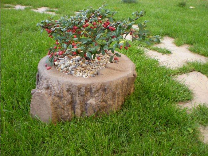Květináč imitace dřeva