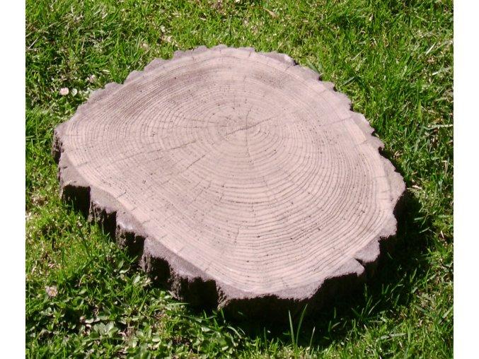 Šlapák imitace dřeva, střední