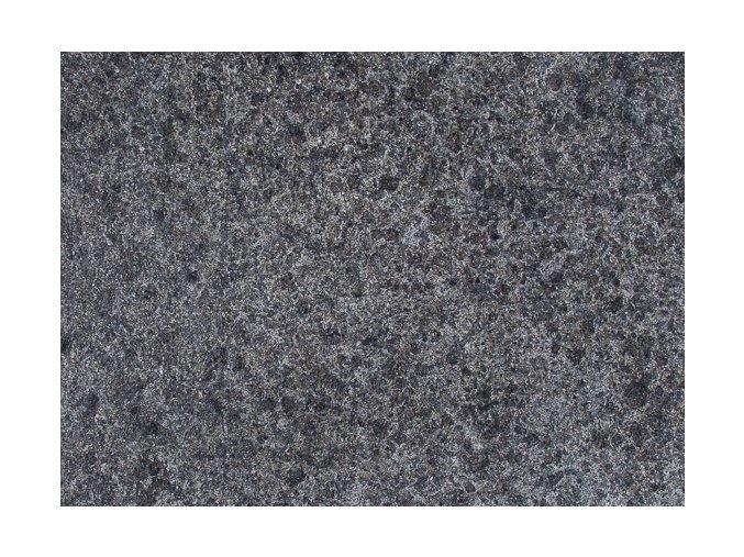 Kamenná dlažba žula Black formátovaná opalovaná