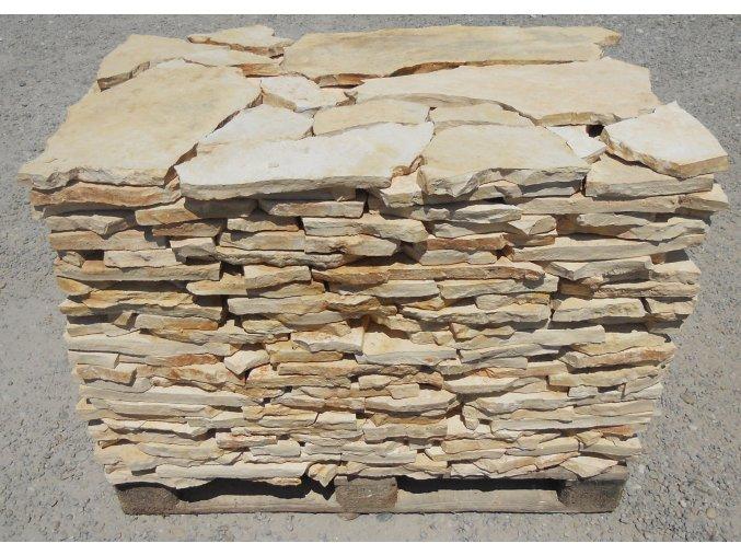 dlažba přírodní kámen vápenec