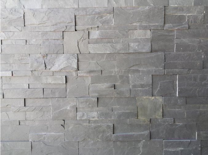 Obklad břidlice tmavo-šedá