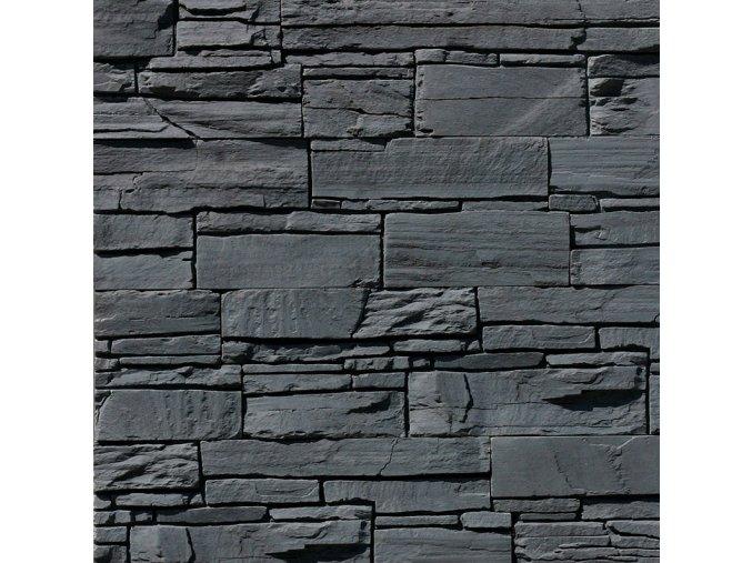 Obklad imitace kamene Iseo Black
