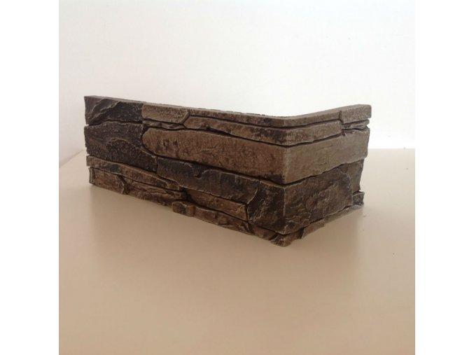 Rohový obklad imitace kamene Isar