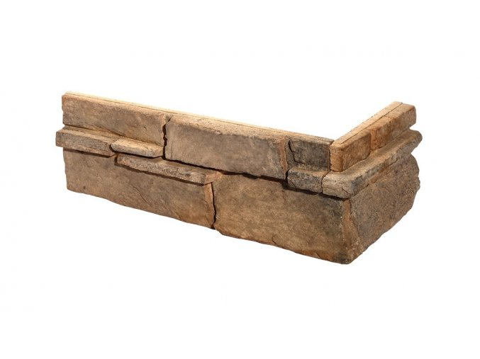 Obklad imitace kamene Grenada 3 mocca roh - Stegu