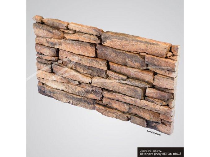 Obklad umělý kámen Alpy lávová - Brož