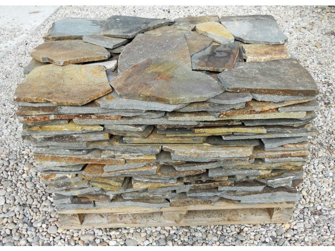 anderit rezavý obklad přírodní kámen