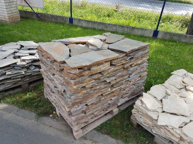 Kamenný obklad Rula medová obklad 20-40cm, tl. 1-3cm