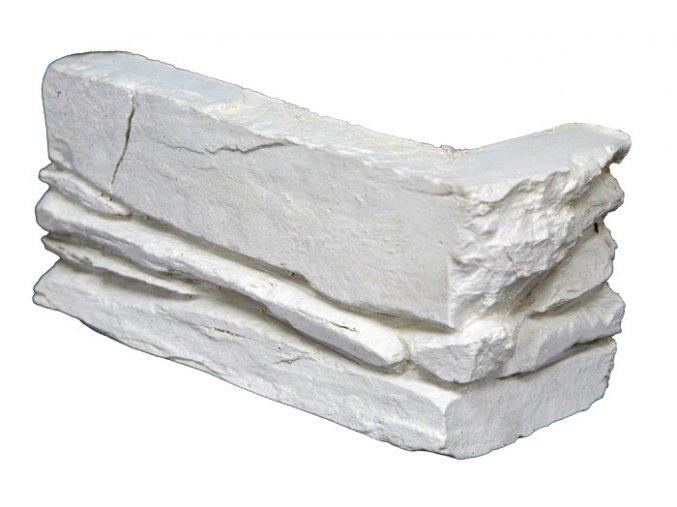 Rohový obklad Shale bílý Magicrete