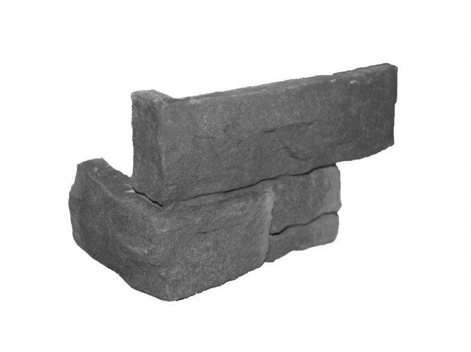 Obklad imitace kamene HazeBlack new - roh