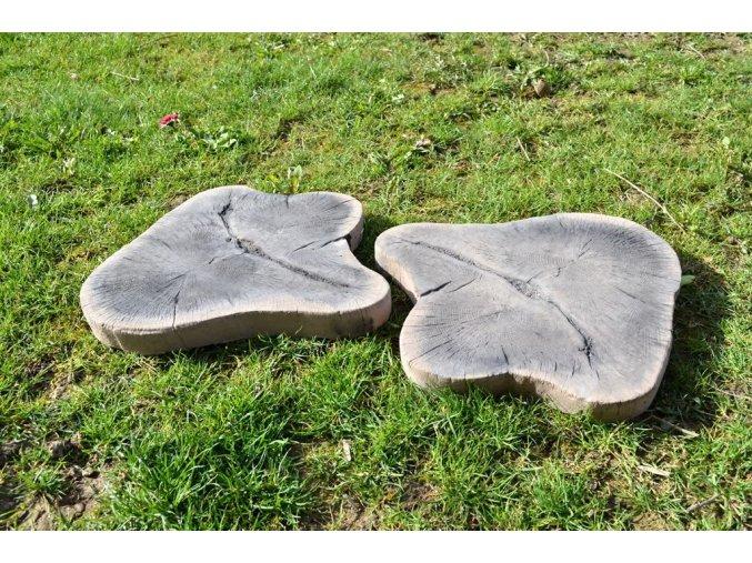 imitace dřeva nášlap střední