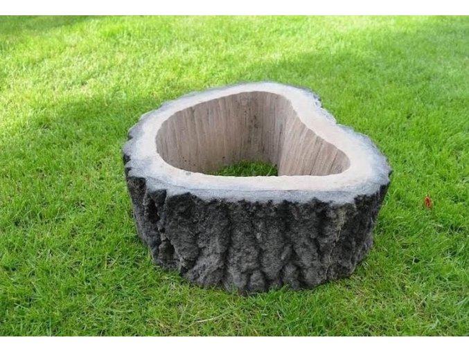 betonová svahovka imitace dřeva 1