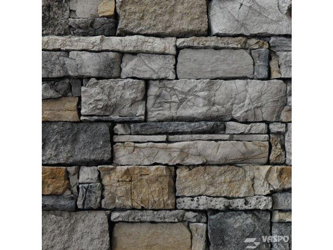 Obkladový kámen srubový šedý Vaspo