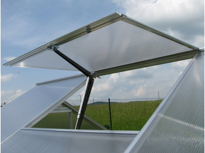 automatický otvírač okna skleníku 1