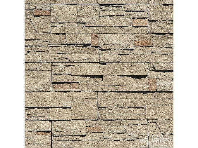 Obklad kámen lámaný hnědošedý - Vaspo