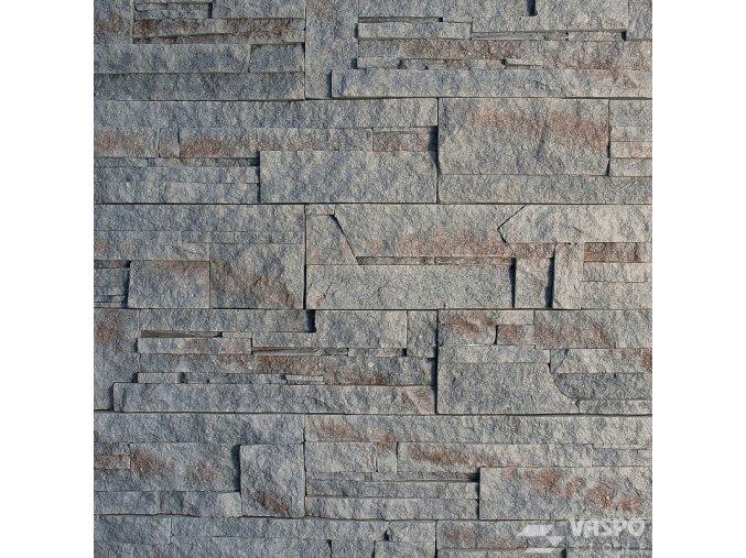 Obklad kámen lámaný šedý Vaspo