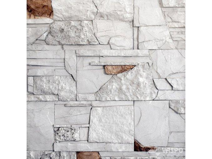 Obklad kámen mix bílošedý Vaspo